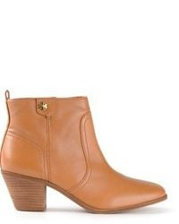 Tan Leather Ankle Boots for Women | Women's Fashion