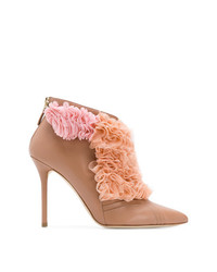Malone Souliers Fluffy Frill Tulle Detail Boots
