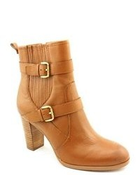 Tahari Robyn Tan Leather Fashion Ankle Boots Newdisplay