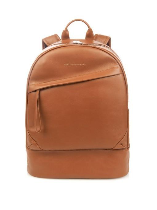 WANT Les Essentiels De La Vie Kastrup Leather Backpack | Where to ...