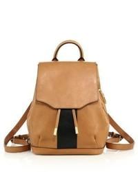 Rag & Bone Pilot Mini Two Tone Leather Backpack