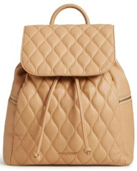 Vera Bradley Tan Leather Backpack