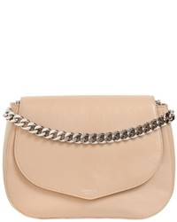 Rochas Medium Leather Shoulder Bag W Chain