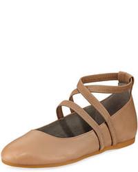 Eileen Fisher Joe Stretch Strap Ballerina Flat