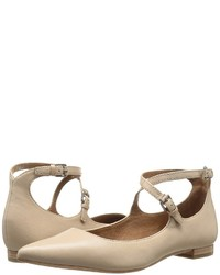 Frye Sienna Cross Ballet Flat Shoes