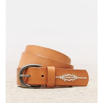 Embroidered Leather Embroidered Leather Belt Xxs