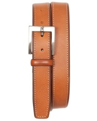 Tommy Bahama Contrast Stitch Leather Belt