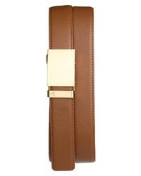 Mission Belt Gold Leather Belt