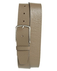 BOSS Hugo Sander Pebbled Leather Belt
