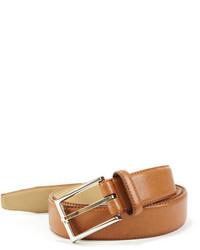 Ike Behar Ike By Leather Contrast Lined Belt