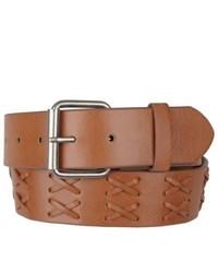 Journee Collection Casual Lacing Pattern Belt