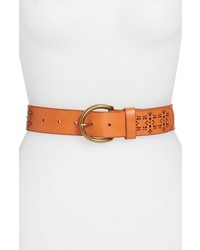Lucky Brand Perforated Leather Belt