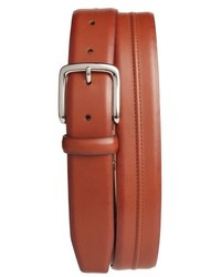 Cole Haan Pinched Seam Leather Belt