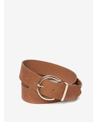 Dorothy Perkins Tan Clean Jeans Belt