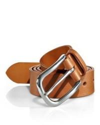 Ralph Lauren Vachetta Leather Dress Belt
