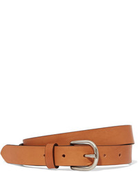 Isabel Marant Zap Leather Belt Camel