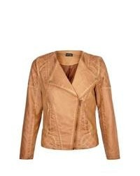 George Biker Jacket Tan