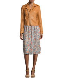 Joie Ailey Paper Weight Leather Moto Jacket