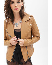 Forever 21 Quilted Faux Leather Jacket | Where to buy & how to wear