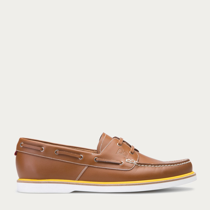 Bally Gabel Havana Leather Boat Shoe | Where to buy & how to wear