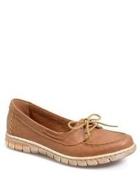 Børn Kayana Leather Boat Shoe