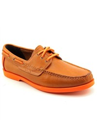Cole Haan Fire Island Boat Brown Leather Boat Shoes