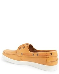 7f0ebc9c Lacoste Keelson 3 Leather Boat Shoe, $144 | Nordstrom | Lookastic.com