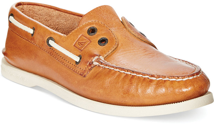 Sperry Ao 2 Eye Slip On Boat Shoes | Where to buy & how to wear