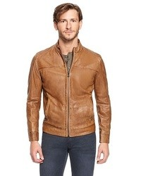 Tan Leather Bomber Jackets for Men | Men's Fashion