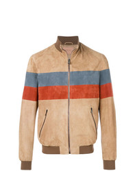 Drome Stripe Detail Bomber Jacket