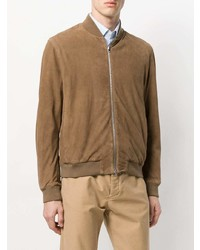 Boglioli Zipped Bomber Jacket