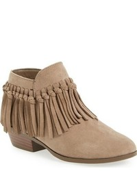 Sam Edelman Girls Petty Zoe Fringed Zip Bootie