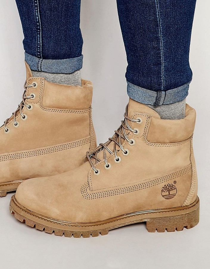 d3e0f8fc29 Timberland Icon 6 Inch Leather Premium Boots, $190 | Asos ...