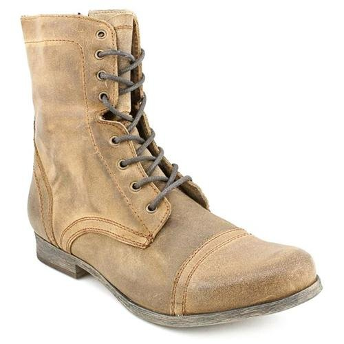 4d2e4ce5857 ... Steve Madden Troopah Xl Tan Leather Casual Boots