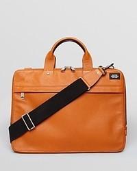 Jack Spade Mason Davis Slim Leather Briefcase