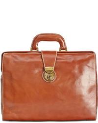 Patricia Nash Nash Heritage Leather Slim Briefcase