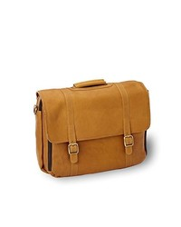 Tan Leather Briefcase