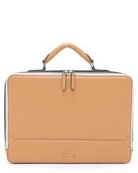Waxy leather eton briefcase medium 225793
