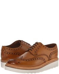 Grenson Archie V Lace Up Wing Tip Shoes