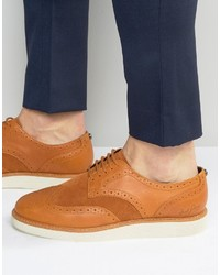 Fred Perry Newburgh Brogue Leather Shoes