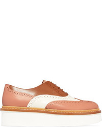 Tod's Leather Brogues Tan