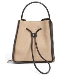3.1 Phillip Lim Small Soleil Bucket Bag Beige