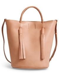 Austin leather bucket bag brown medium 4136487