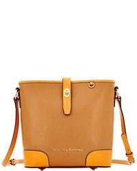 Dooney & Bourke Claremont Leather Bucket Crossbody Bag