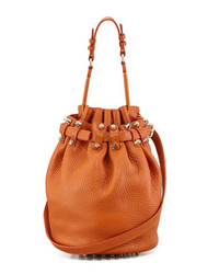 Alexander Wang Diego Bucket Bag Orangepale Golden