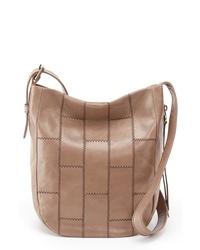 Hobo Kharma Patchwork Calfskin Leather Bucket Bag