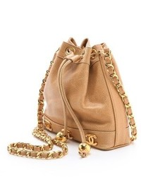 a3bcd75d9823 ... What Goes Around Comes Around Vintage Chanel Caviar Bucket Bag ...