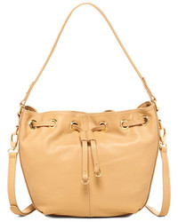 Zenith Handbags Leather Bucket Bag
