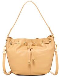 Zenith Handbags Leather Bucket Bag