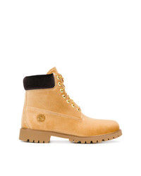 Off-White X Timberland Lace Up Boots